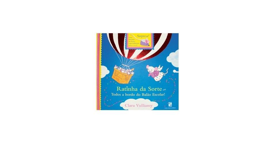 """Ratinha da sorte"", de Clara Vulliamy"