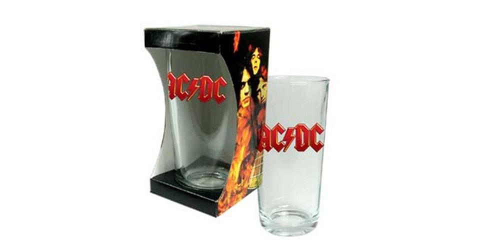Copo de cerveja da banda AC/DC