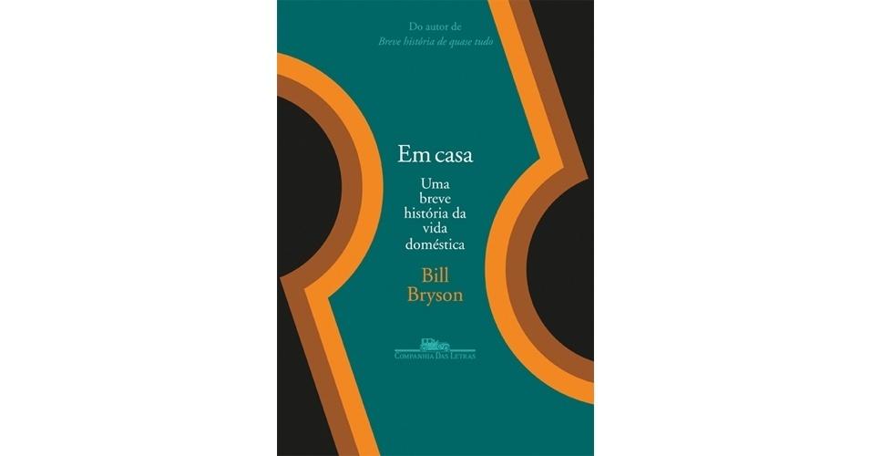 """""""Em Casa"""", novo livro de Bill Bryson"""
