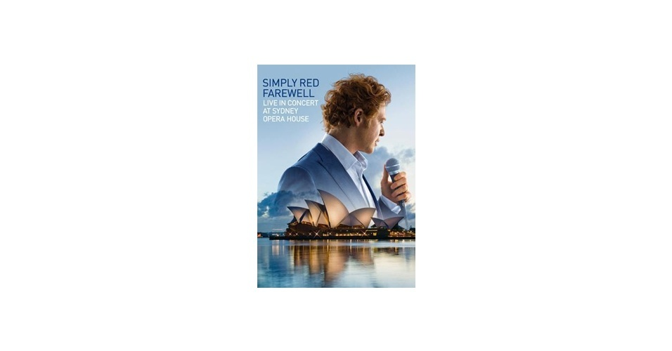 """O DVD """"Simply Red, Farewell - Live In Concert At Sydney Opera House"""""""