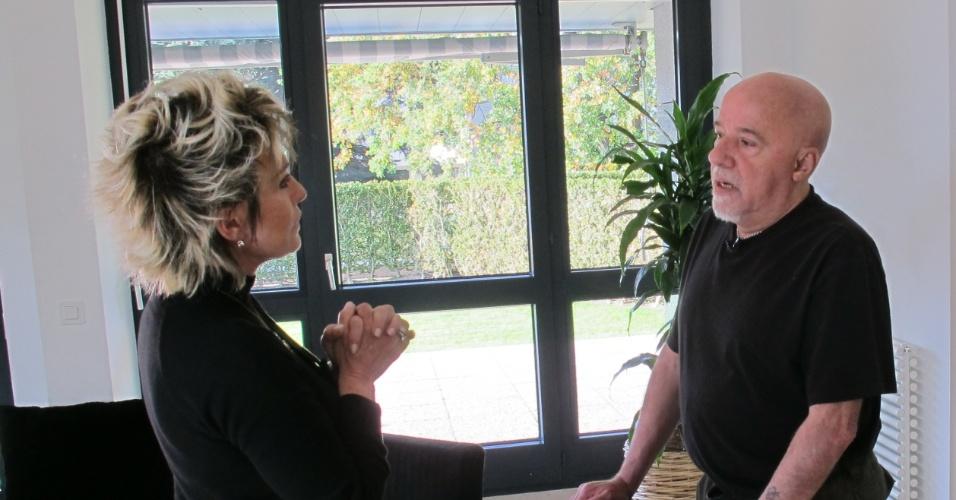 Paulo Coelho em entrevista a Ana Maria Braga no