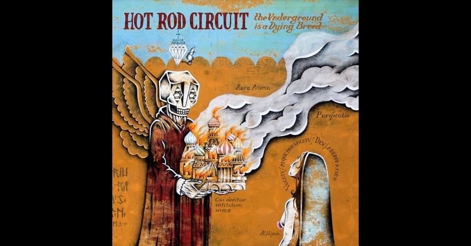 Álbum de 2007 do grupo Hot Rod Circuit, cuja capa foi feita por Stephan Doitschinoff.