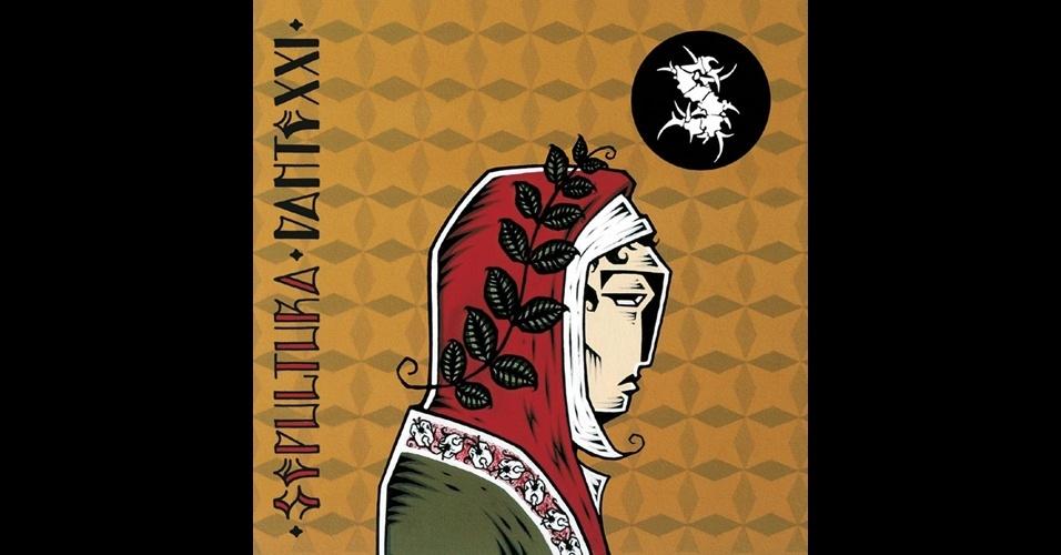 Arte do disco Dante XXI (2006), do grupo Sepultura, feita pelo artista plástico Stephan Doitschinoff.