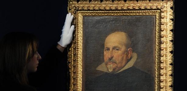 Quadro redescoberto de Velázquez vai a leilão - AFP