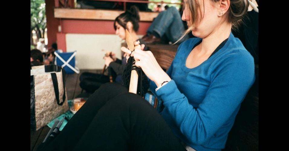 Piquenique com tricô é a combinação do grupo Tresponto