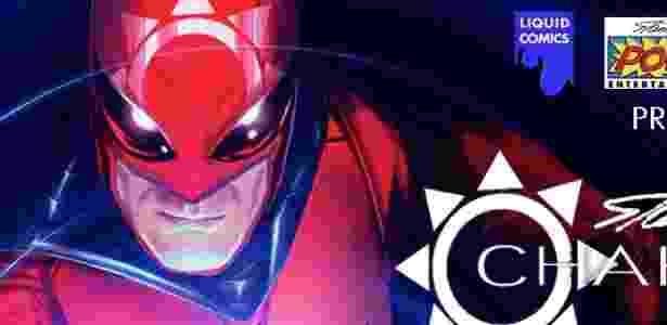 Imagem da Liquid Comics mostra o personagem Chakra  - Reprodução/LiquidComics