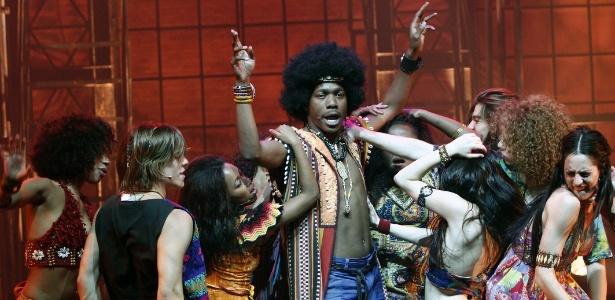 """Elenco do musical """"Hair""""  - Divulgação"""