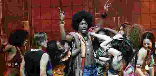 """Elenco do musical """"Hair"""", que teve versão brasileira apresentada no Rio de Janeiro e em São Paulo em 2011 e 2012 - Divulgação"""