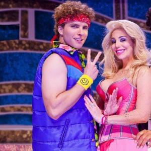 "Thiago Fragoso, Danielle Winits e Sidney Magal estão juntos no musical ""Xanadu"""