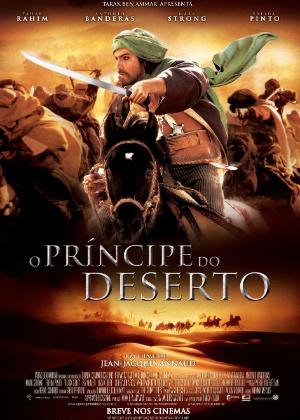 """Veja primeiro pôster em português do longa """"O Príncipe do Deserto"""""""