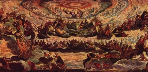 """Obra """"Paraíso"""", de Tintoretto, um dos destaques da coleção do Thyssen, receberá restauração neste ano - Reprodução"""
