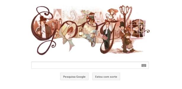 Google presta homenagem ao bicentenário do nascimento de Charles Dickens - Reprodução