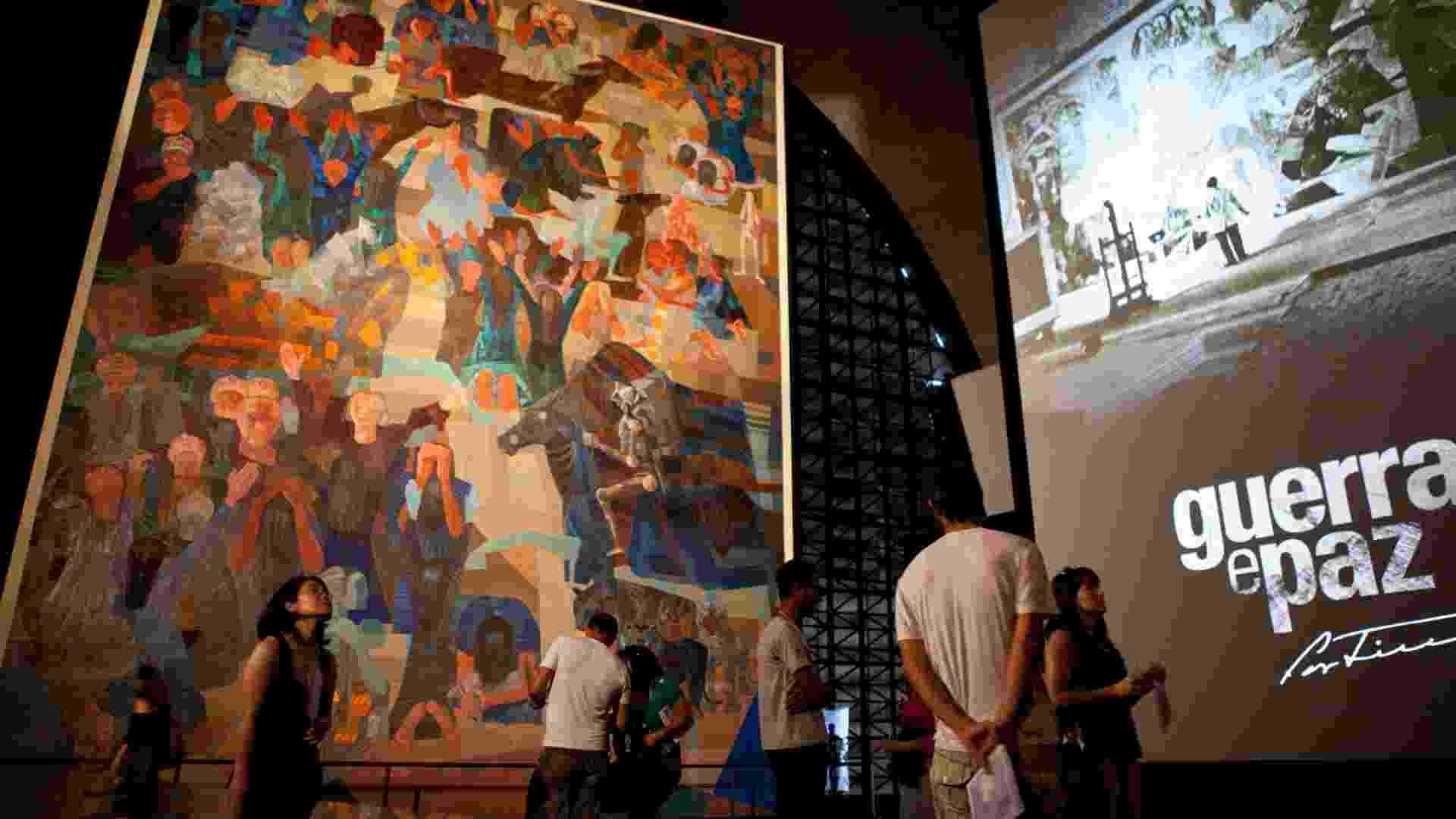 Guerra e Paz na Memorial da América Latina - Silvia Zamboni/folhapress