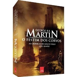 """Capa do livro """"Festim dos Corvos"""" - Divulgação"""