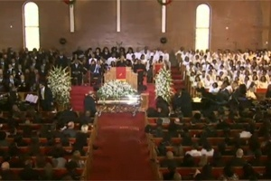Funeral Whitney Houston