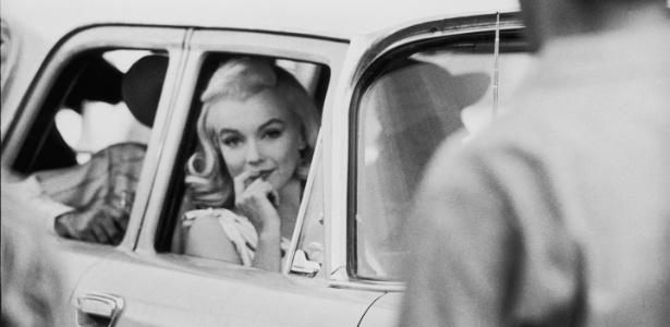 Fotografia da atriz Marilyn Monroe exposta Cinemateca Brasileira - Divulgação