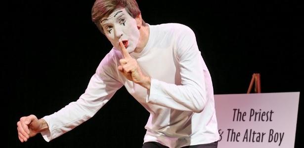 O humorista americano Billy The Mime em uma de suas apresentações - Divulgação