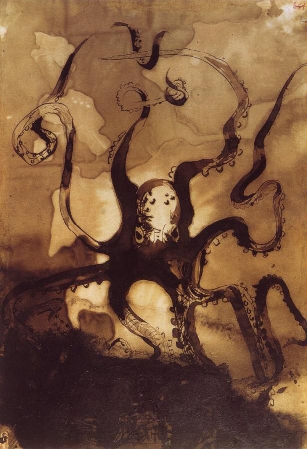 Reprodução/Shadows of a Hand: The Drawings of Victor Hugo