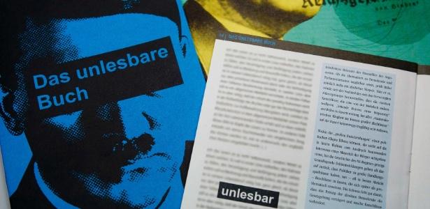 """Passagens do livro """"Mein Kampf"""" (Minha luta) são transformadas em fascículos pela revista histórica sobre o nazismo """"Zeitungszeugen""""  - Reuters"""