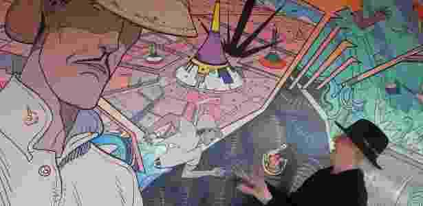 Morre o cartunista francês Moebius - AFP