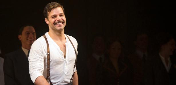 "No musical ""Evita"", de Andrew Lloyd Webber, Ricky Martin interpreta Che Guevara"