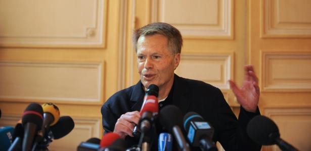 O escritor francês Jean-Marie Gustave Le Clézio, ganhador do prêmio Nobel de Literatura em 2008 (9/10/08) - AFP